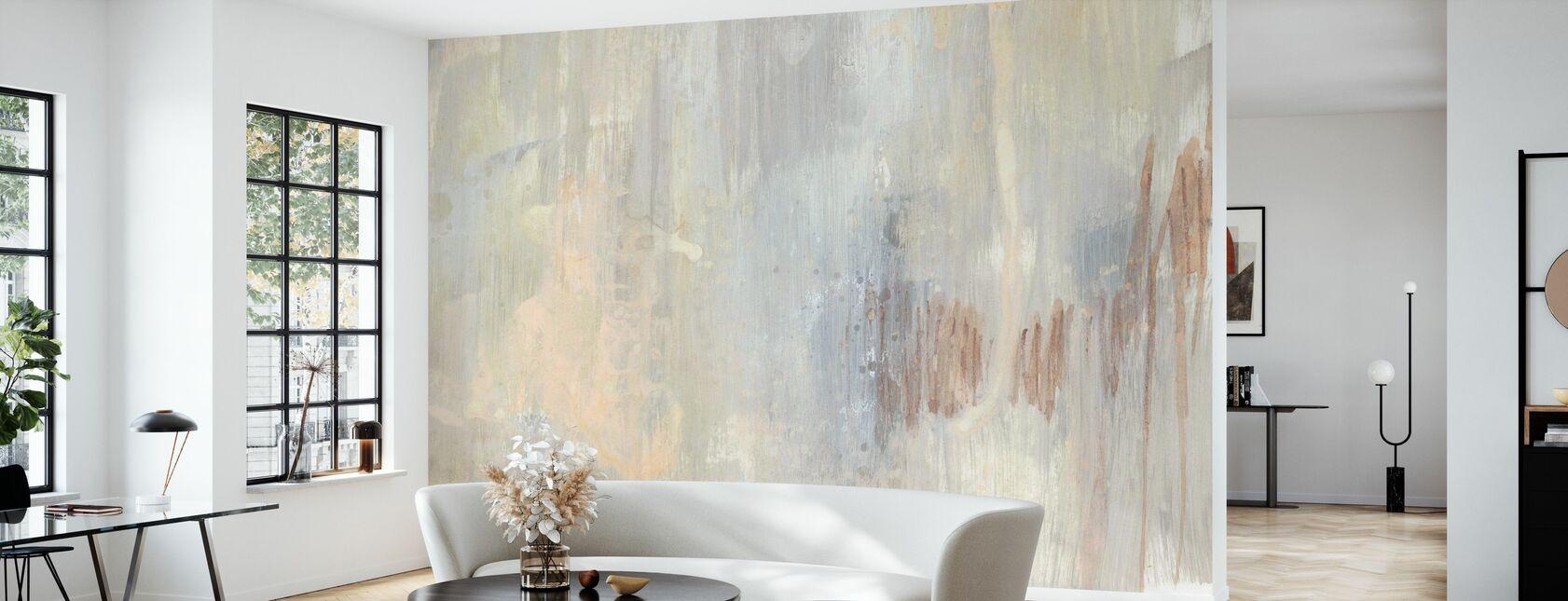 Barely Blush II - Wallpaper - Living Room