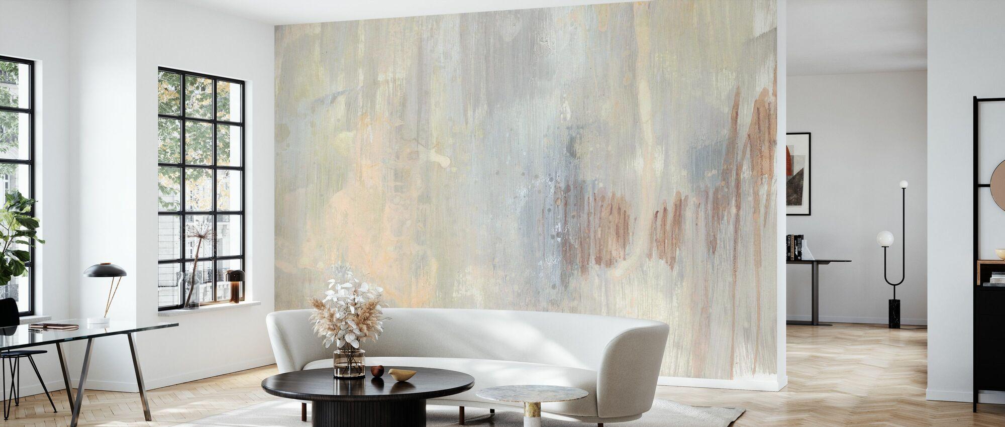 Barely Blush II - Papel pintado - Salón