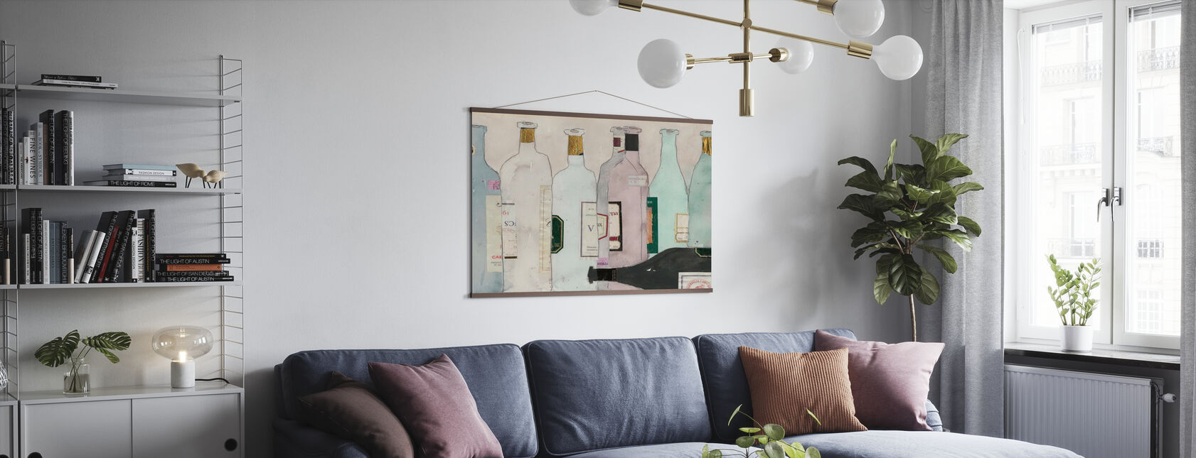 Nach der Verkostung - Poster - Wohnzimmer