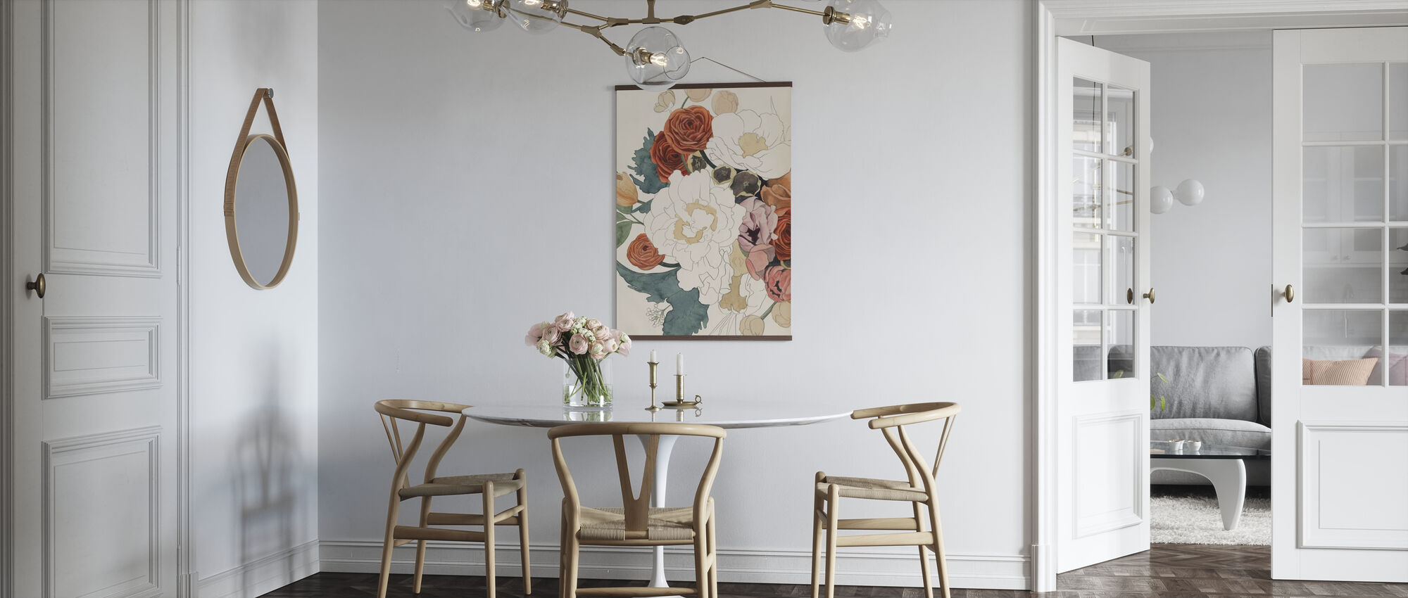 Imperfect Bouquet - Poster - Kitchen