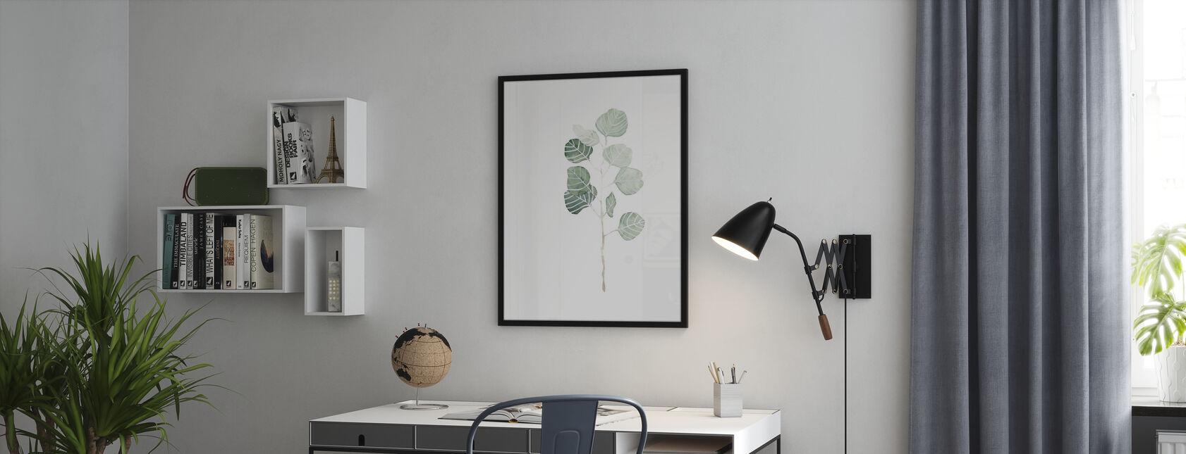 Weicher Eukalyptuszweig - Poster - Büro