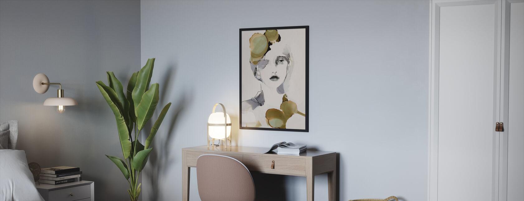 Organiskt porträtt - Poster - Sovrum