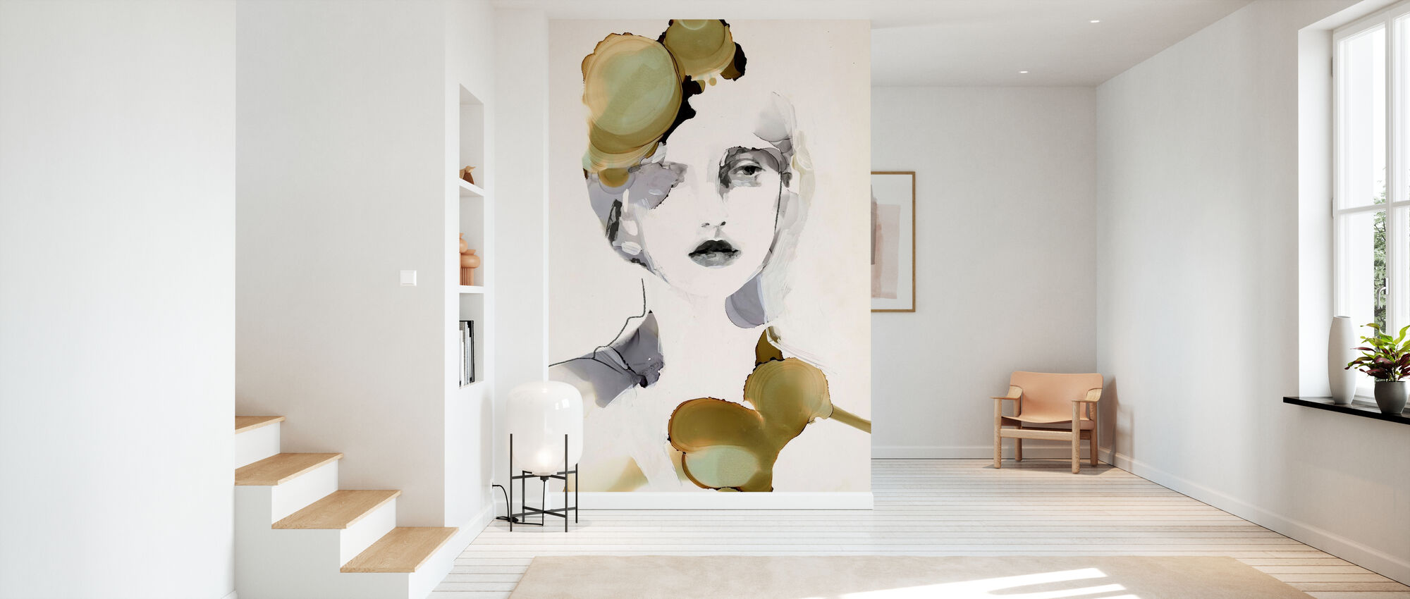 Organic Portrait - Wallpaper - Hallway