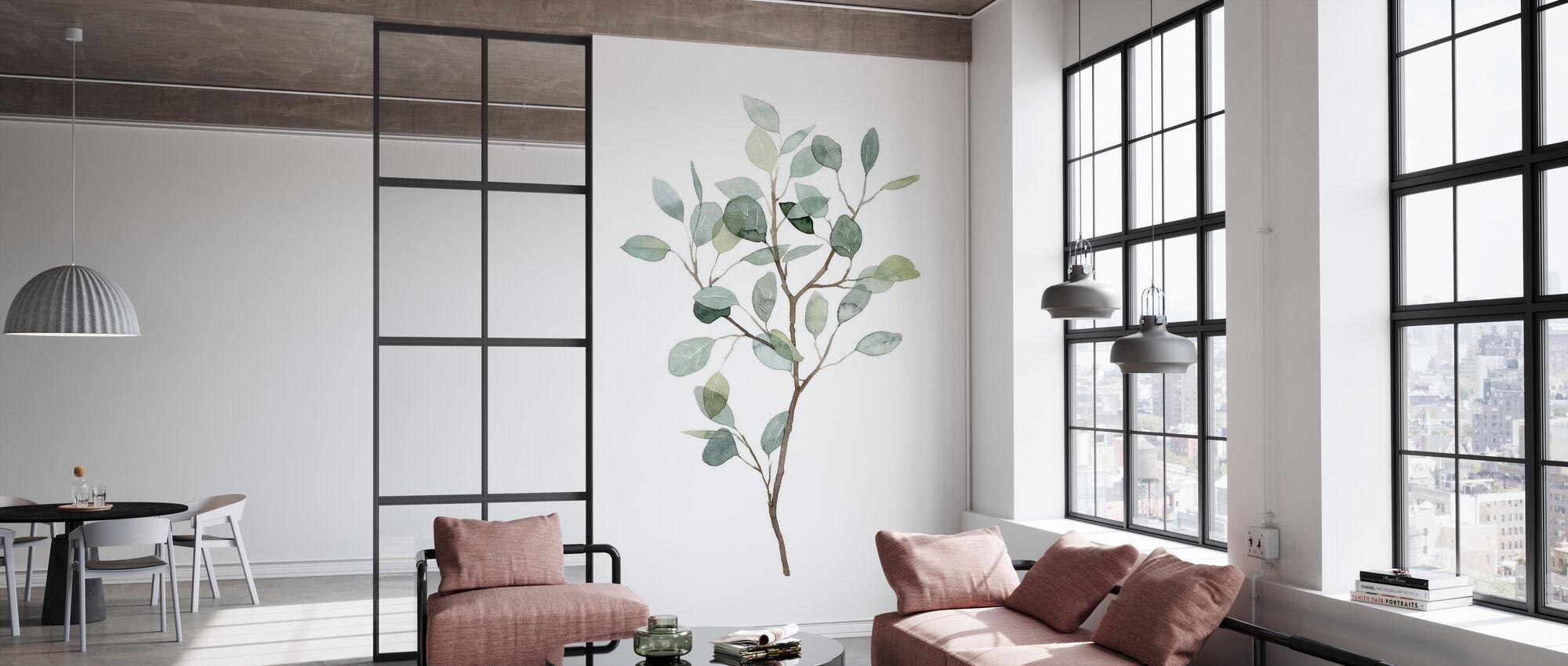 Seaglass Eukalyptus - Tapete - Büro