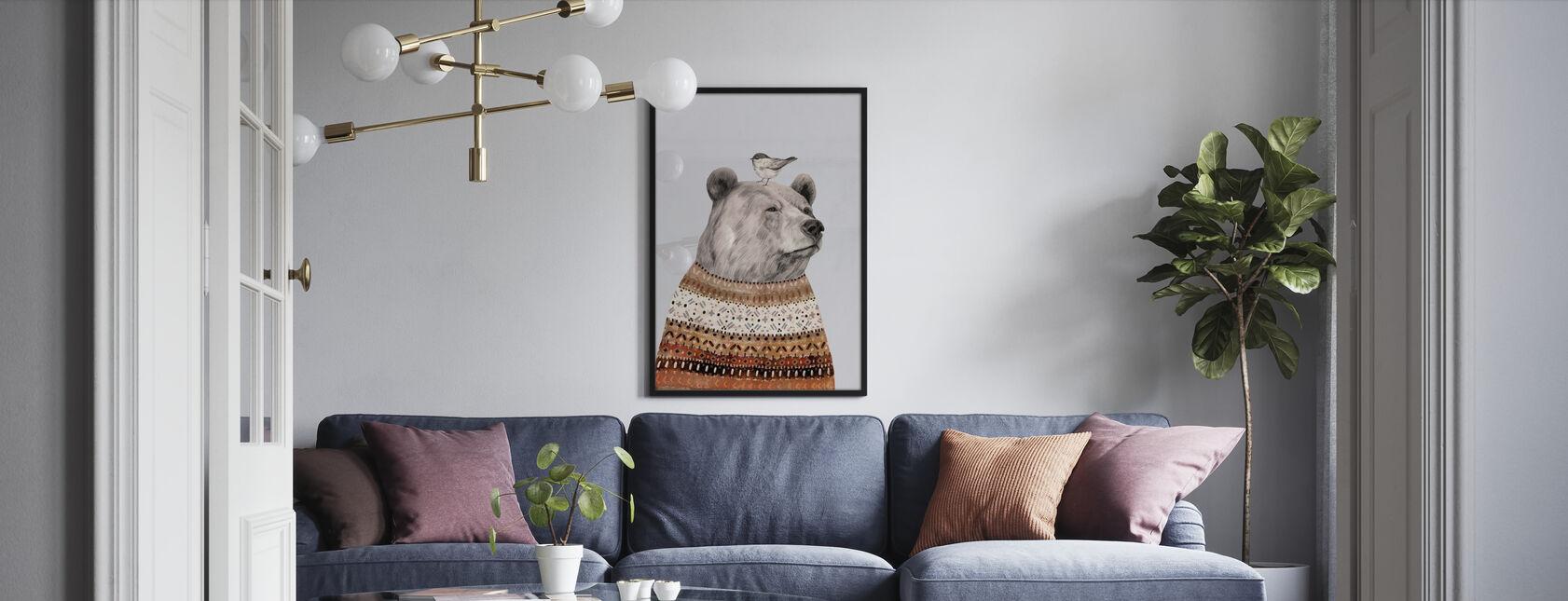 Fair Isle Bär - Poster - Wohnzimmer