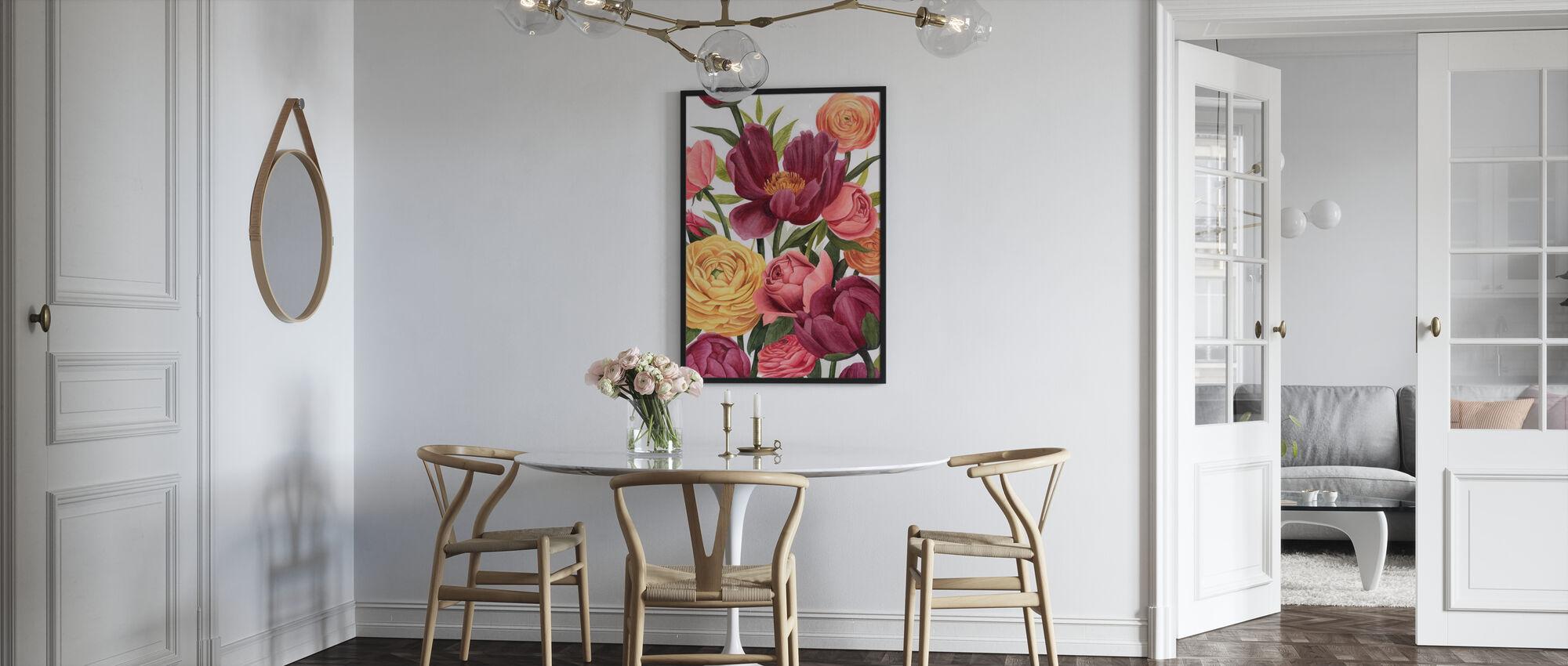 Balmy Blooms - Poster - Kök