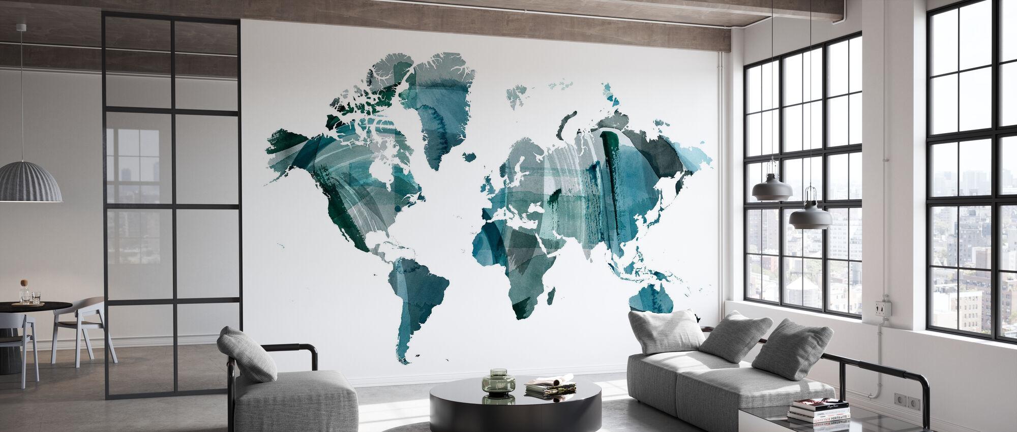 World Wash - Tapete - Büro