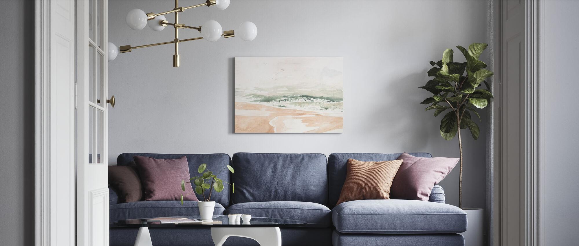 Sandy Surf - Canvas print - Living Room