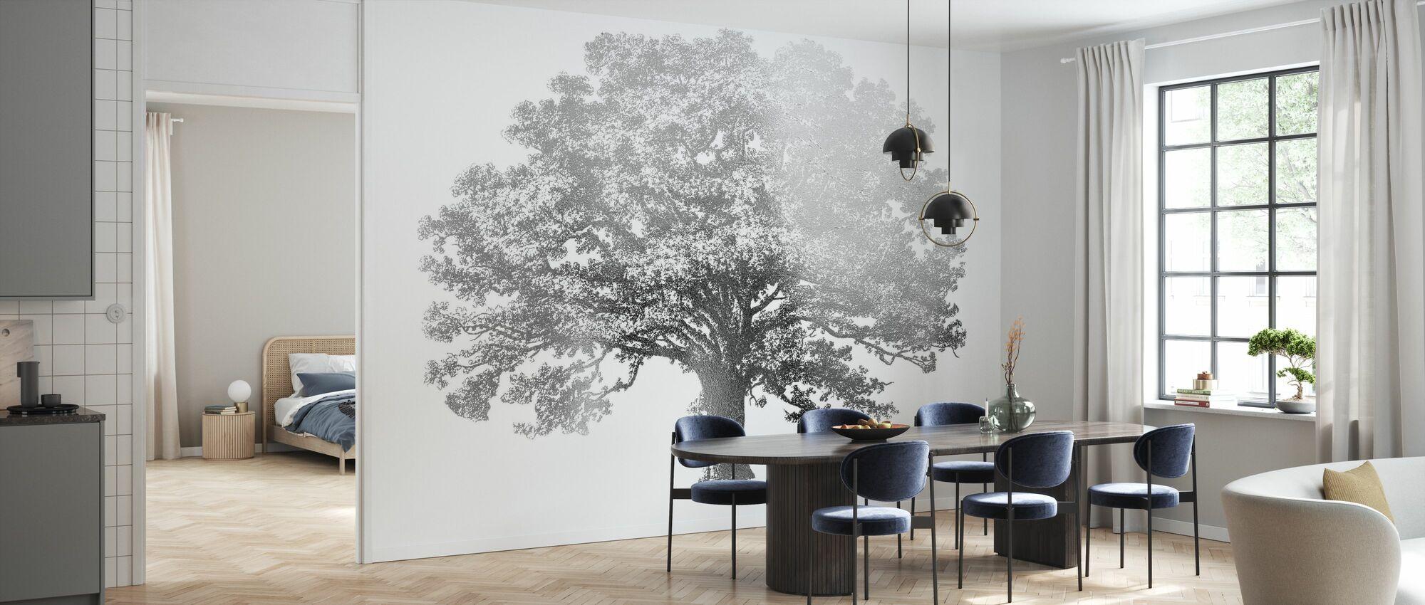 Elephant Tree - Wallpaper - Kitchen