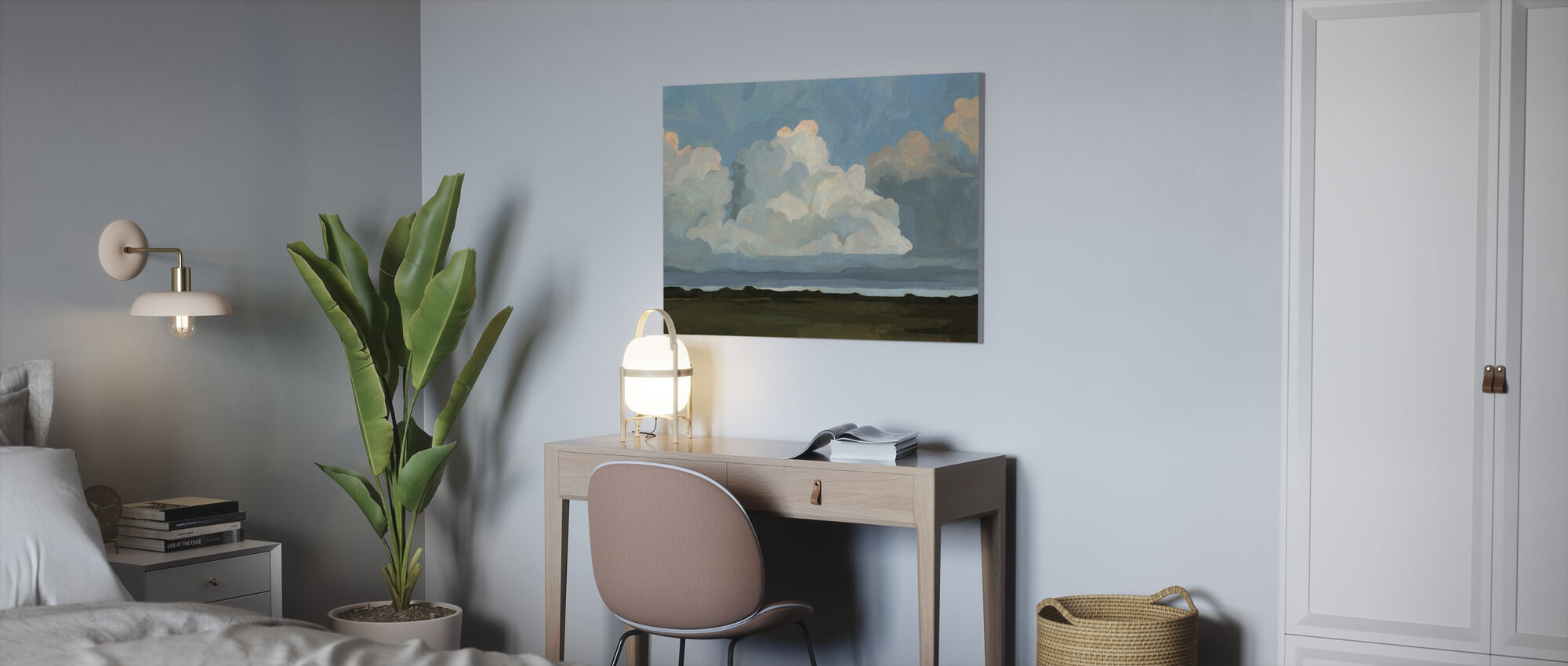 Cloudscape - Canvas print - Office