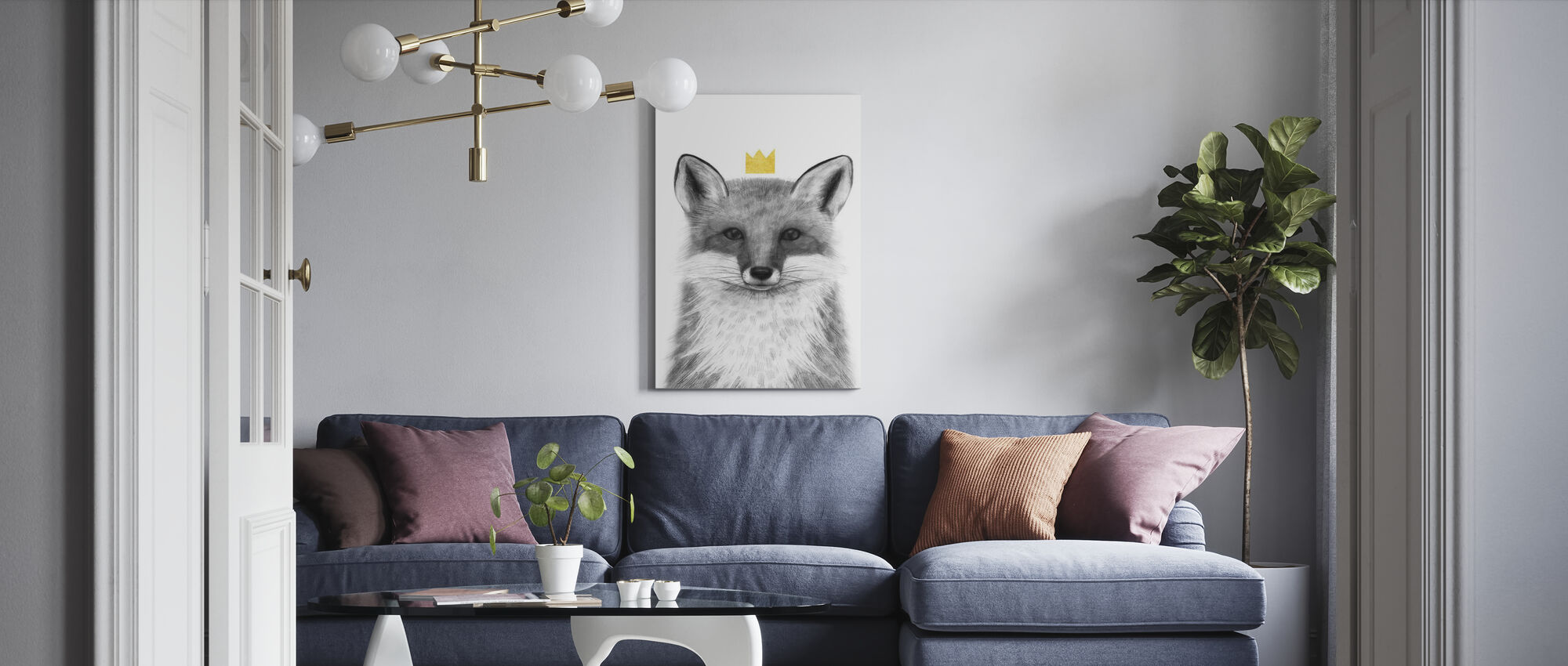 Royal Forester III - Canvas print - Woonkamer