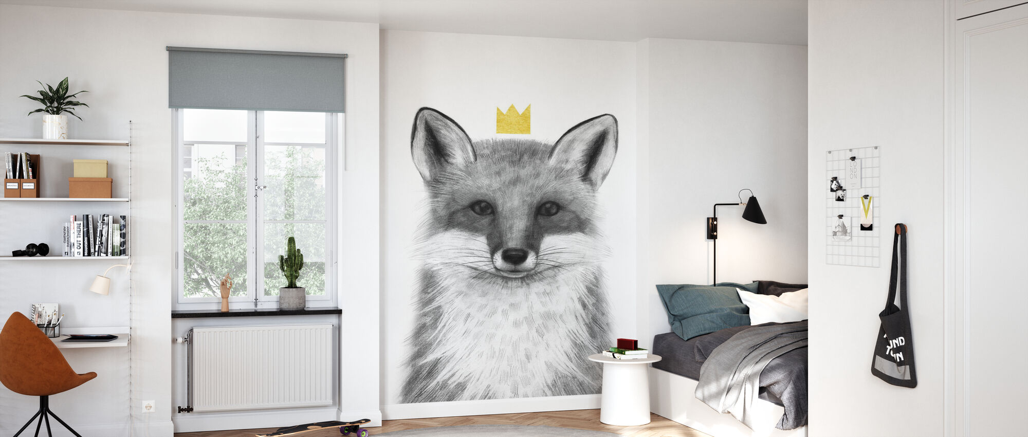 Royal Forester III - Wallpaper - Kids Room