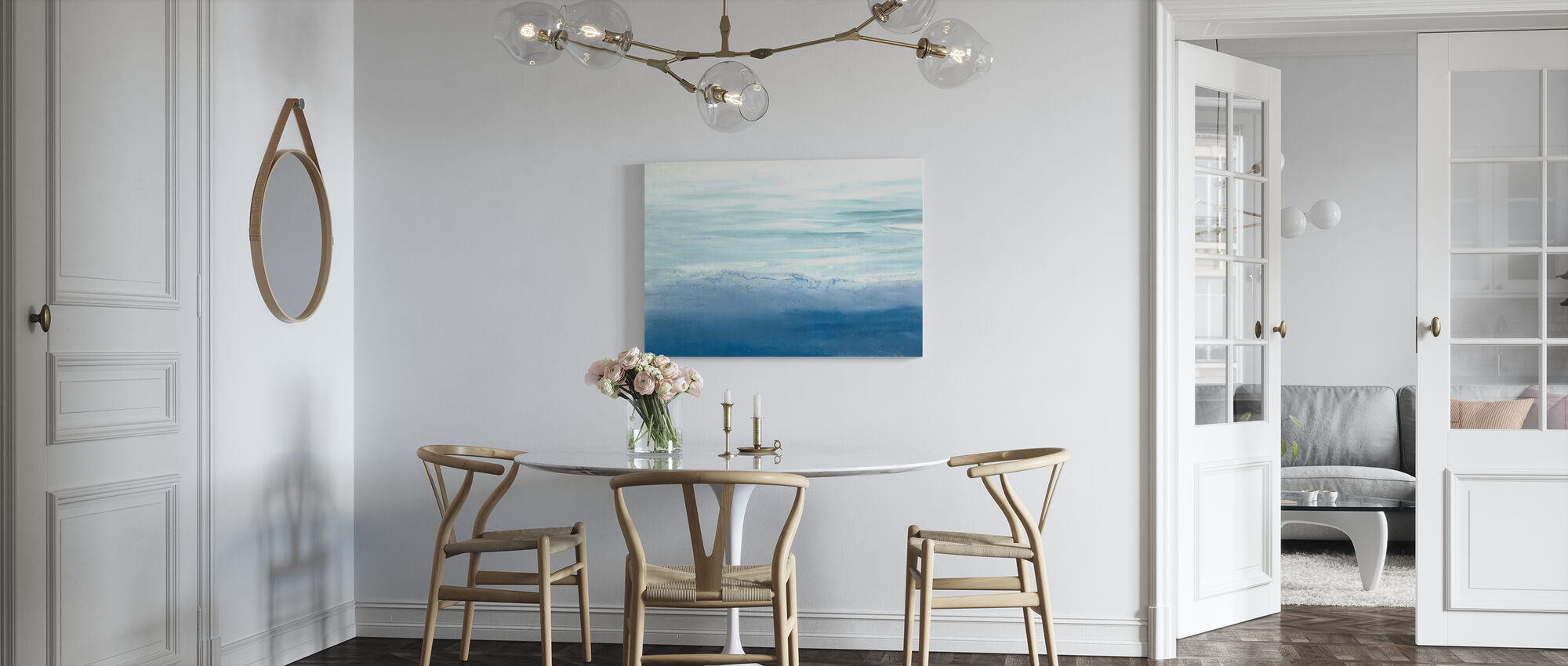 Tide Song - Canvas print - Kitchen