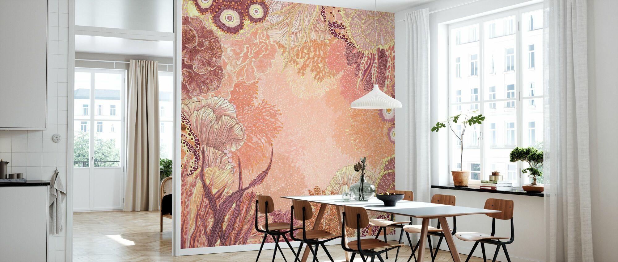 Marine Coral - Wallpaper - Kitchen