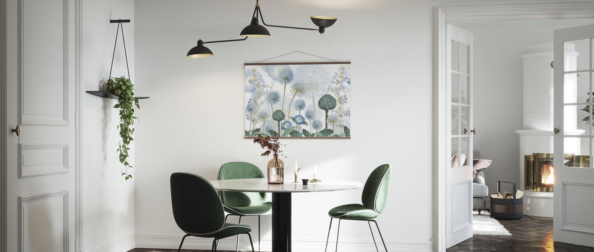 Blauwe Wilde Weide - Poster - Keuken