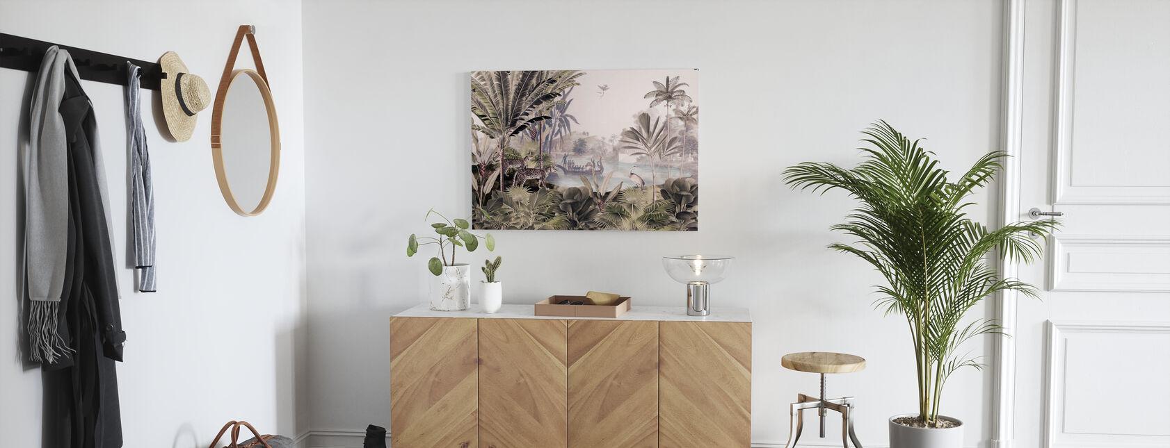 Leopard Landscape - Canvas print - Hallway