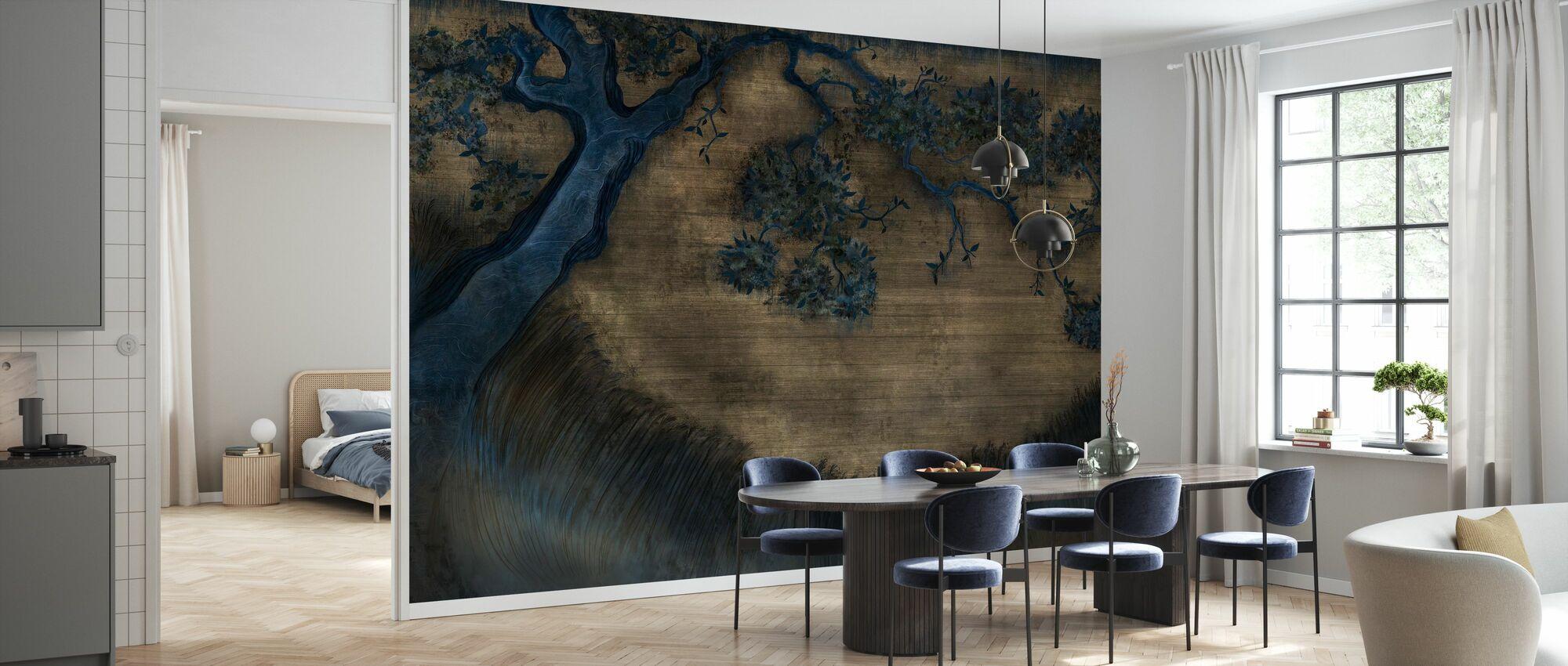 Glorious Tree - Hazel - Wallpaper - Kitchen