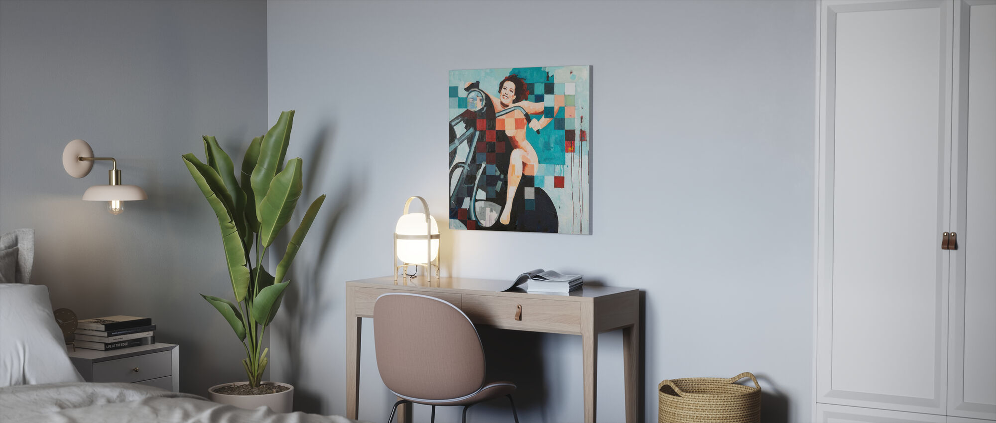 Freedom - Canvas print - Office