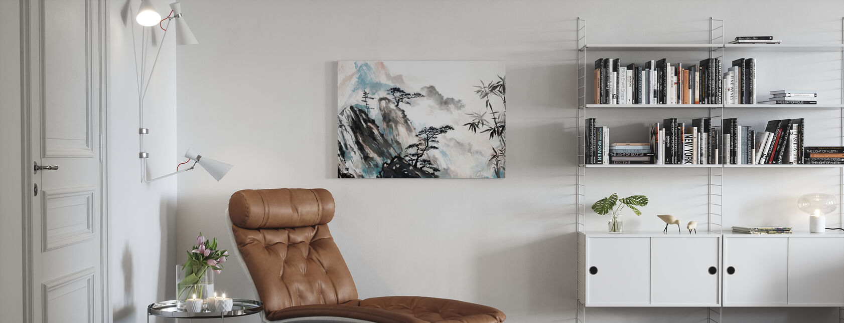 Japanese Eminence - Canvas print - Living Room