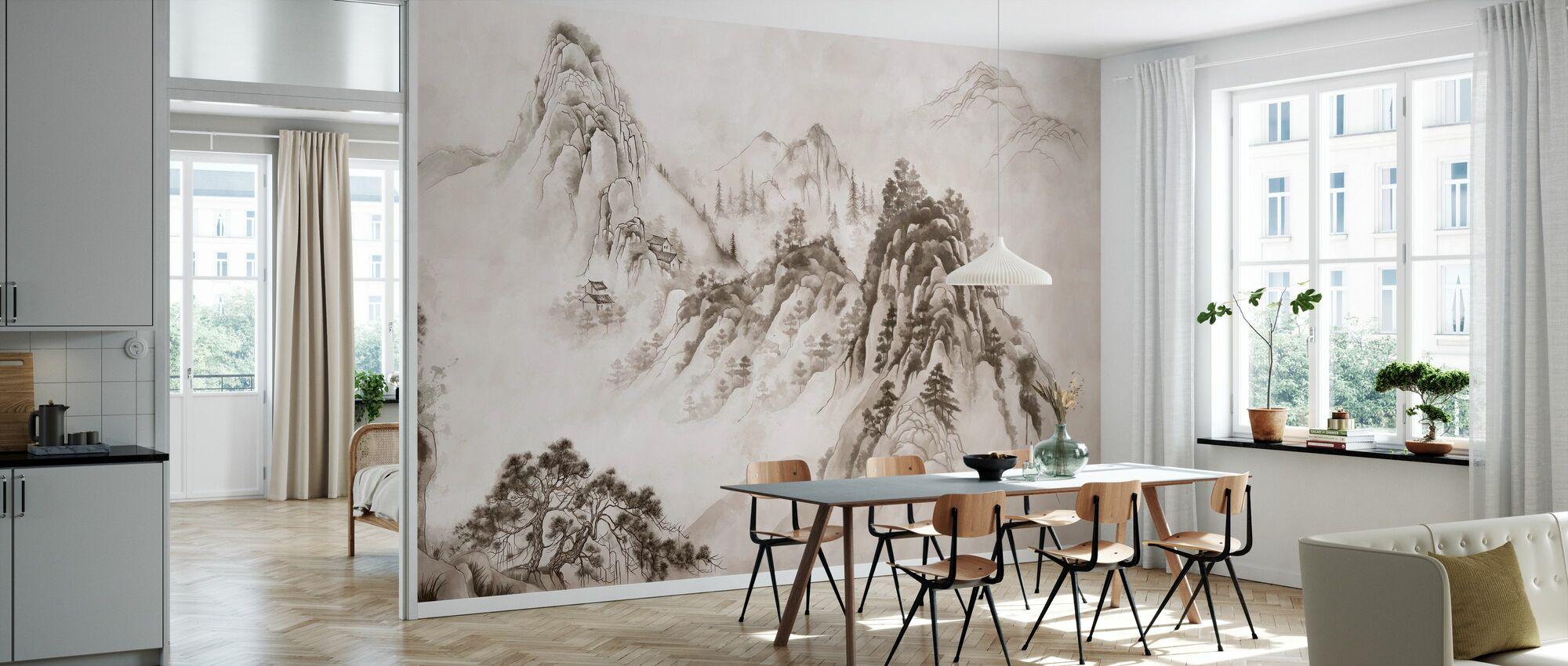 Zen Mountain Monastery - Wallpaper - Kitchen