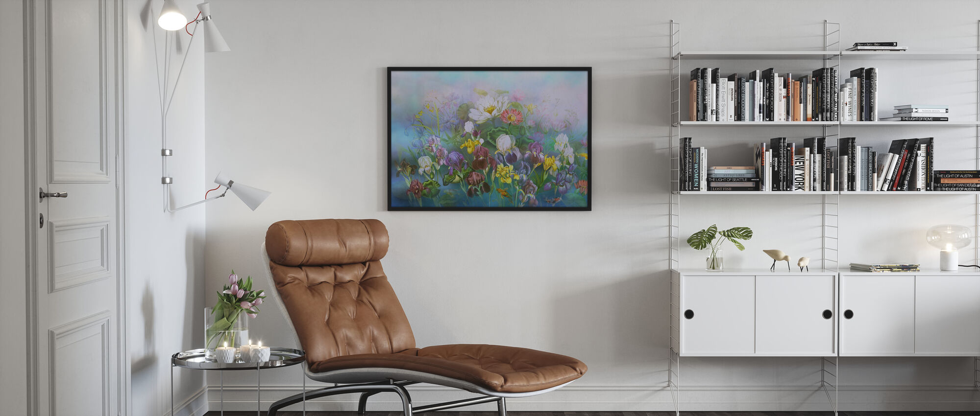 Blomma Kärlek - Poster - Vardagsrum