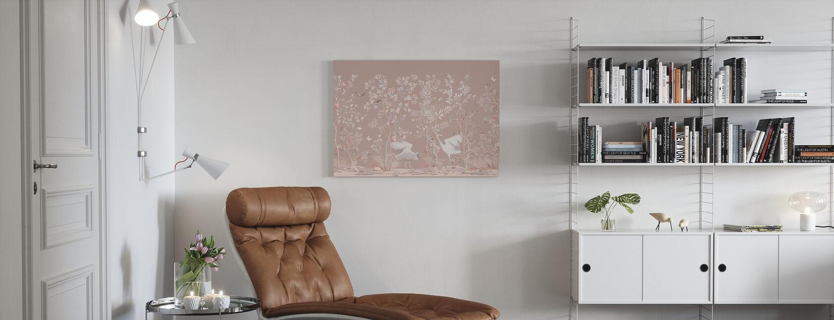 Birds Garden - Canvas print - Living Room