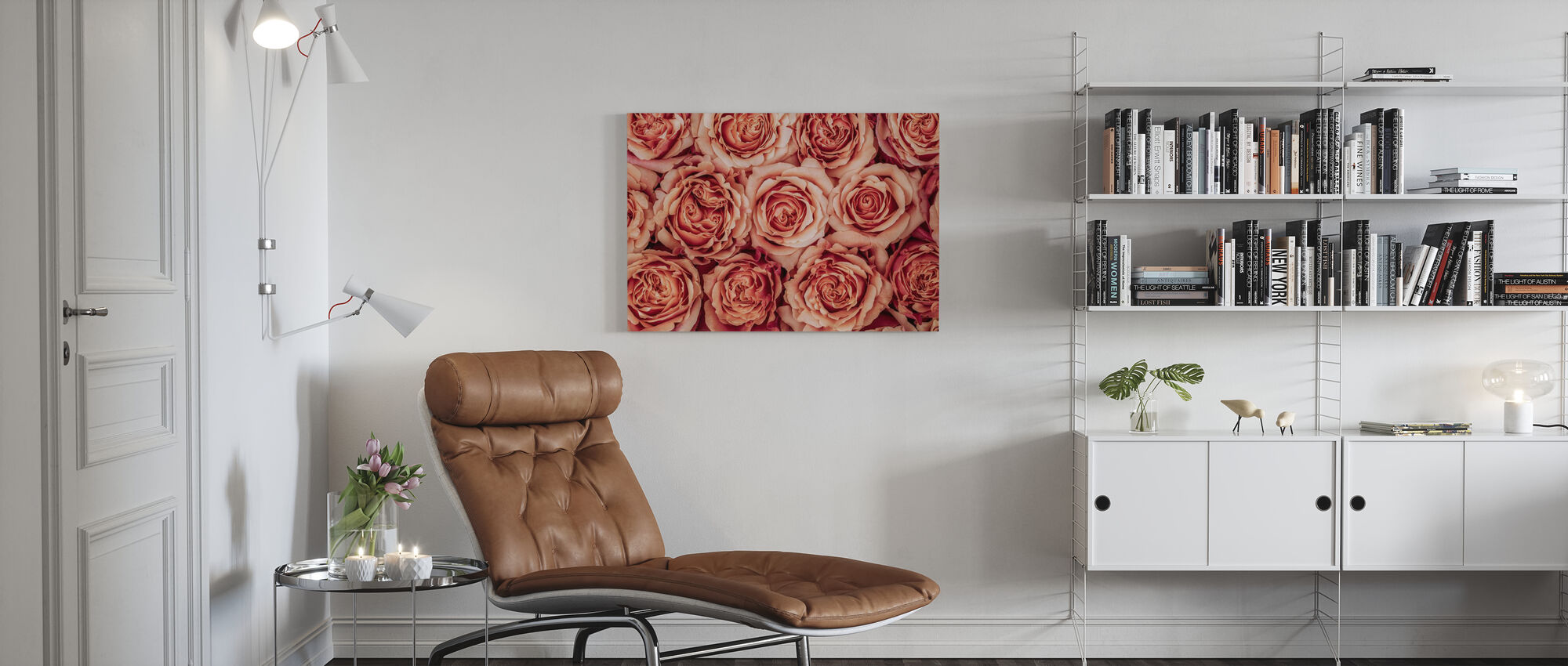 Roses - Canvas print - Living Room