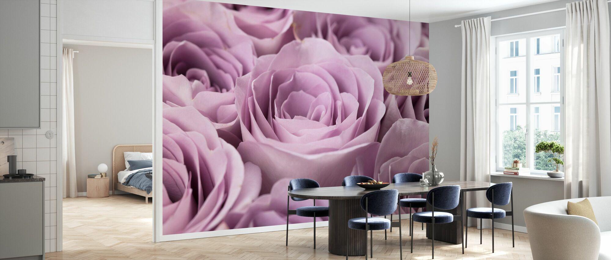 Roses - Wallpaper - Kitchen