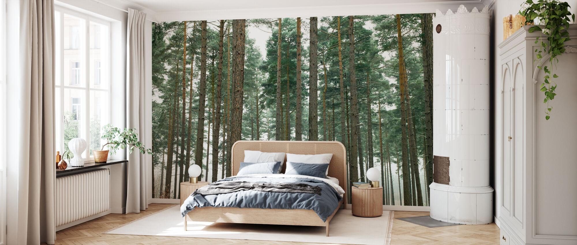 Pine Forest - Wallpaper - Bedroom