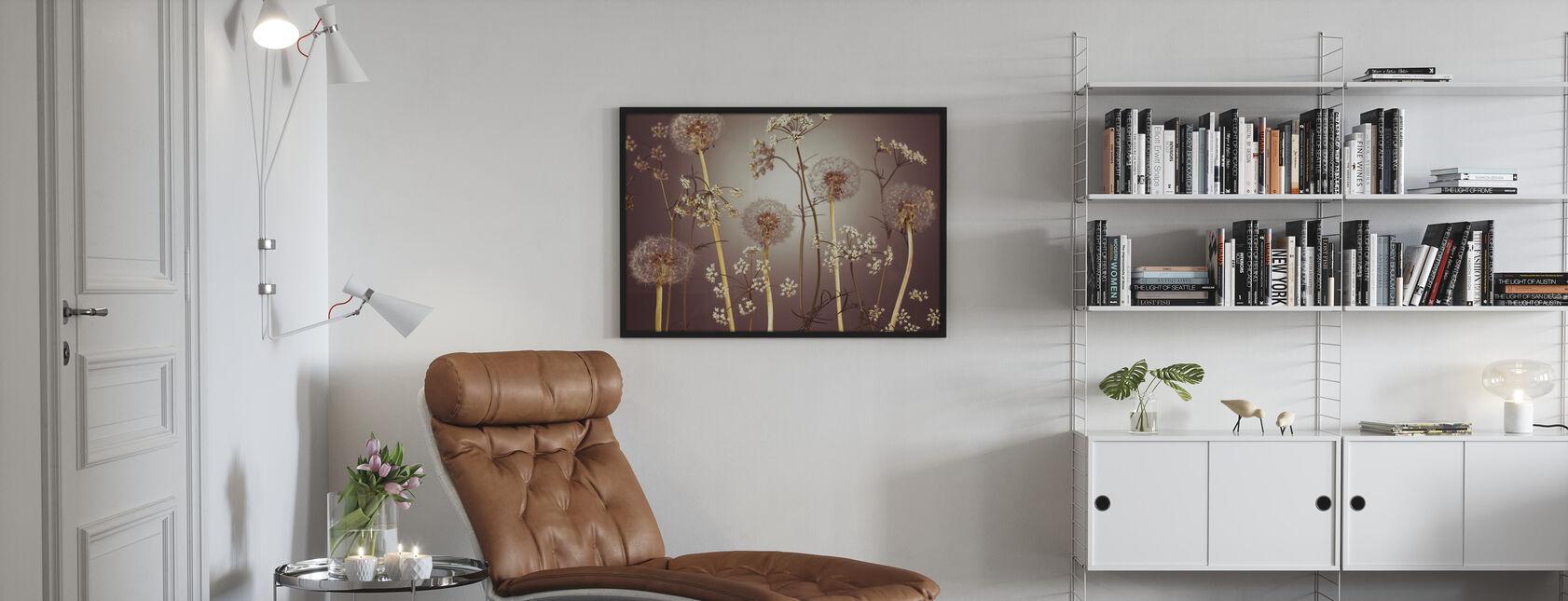 Weide Bloemen - Hazel - Ingelijste print - Woonkamer
