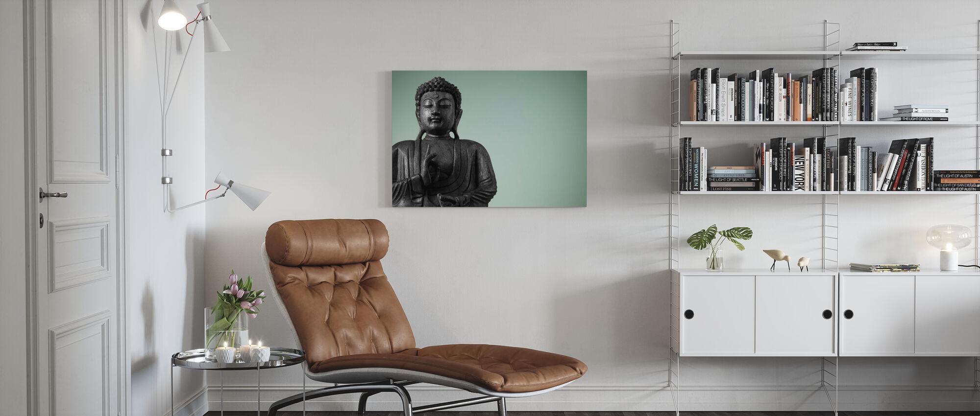 Buddha - Billede på lærred - Stue
