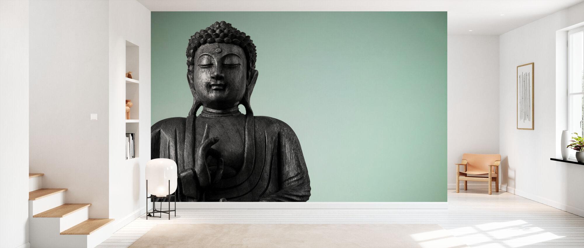 Buddha - Wallpaper - Hallway