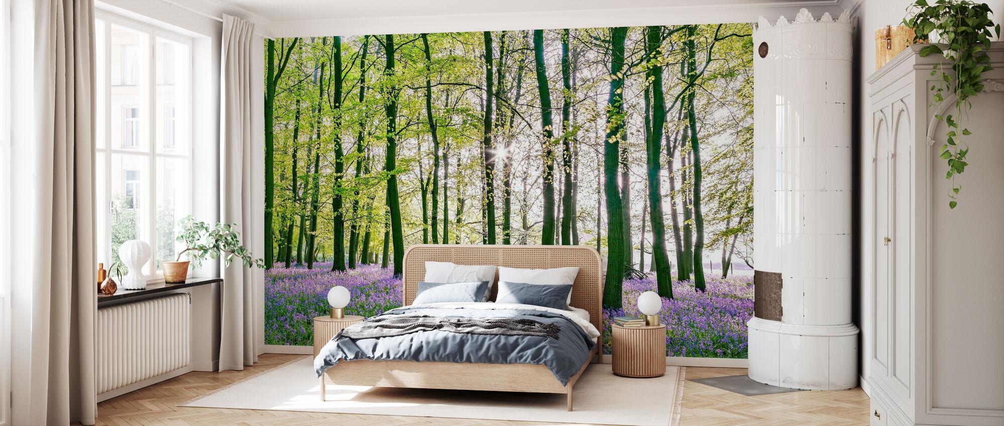 Bluebells - Wallpaper - Bedroom