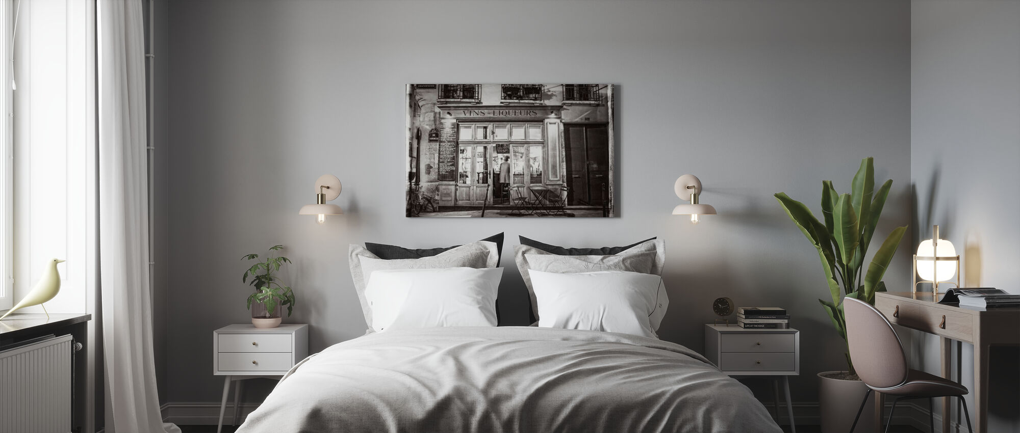 Liquor Store - Paris - Canvas print - Bedroom