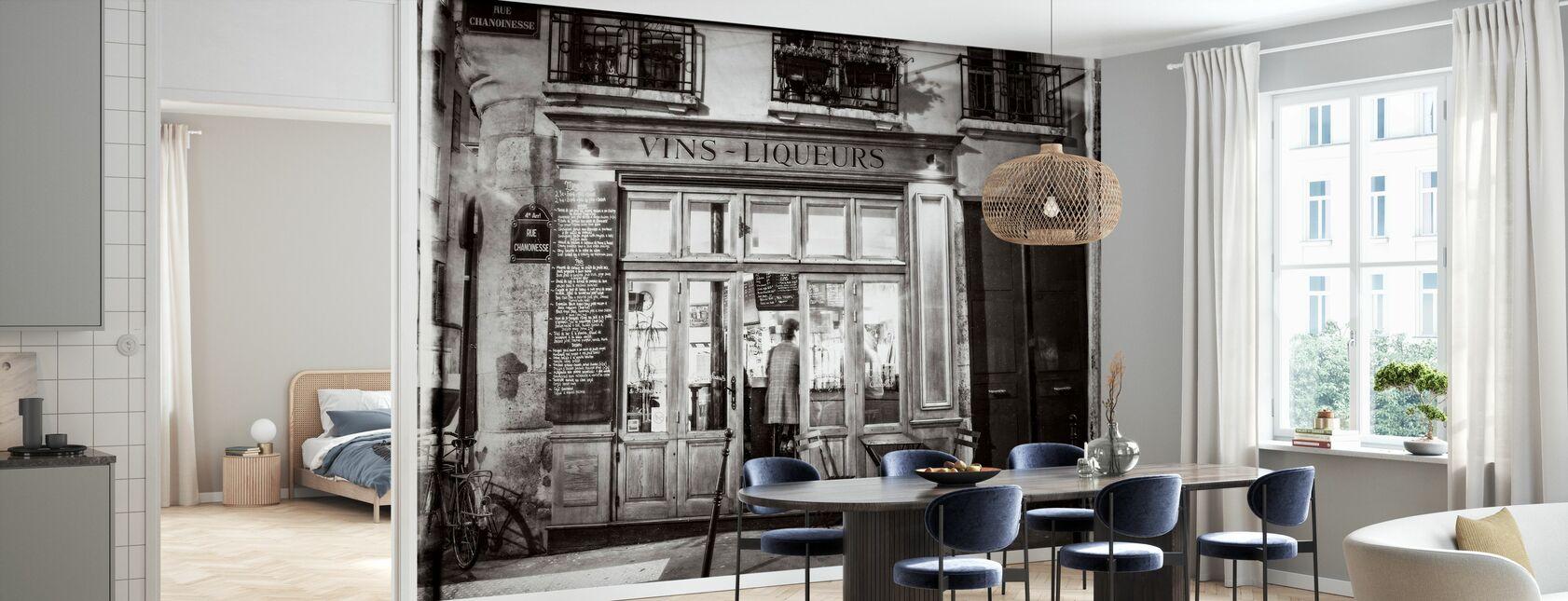 Slijterij - Parijs - Behang - Keuken