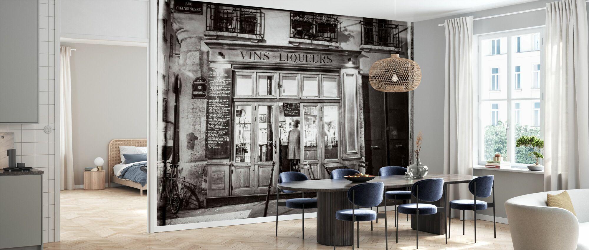 Liquor Store - Paris - Wallpaper - Kitchen