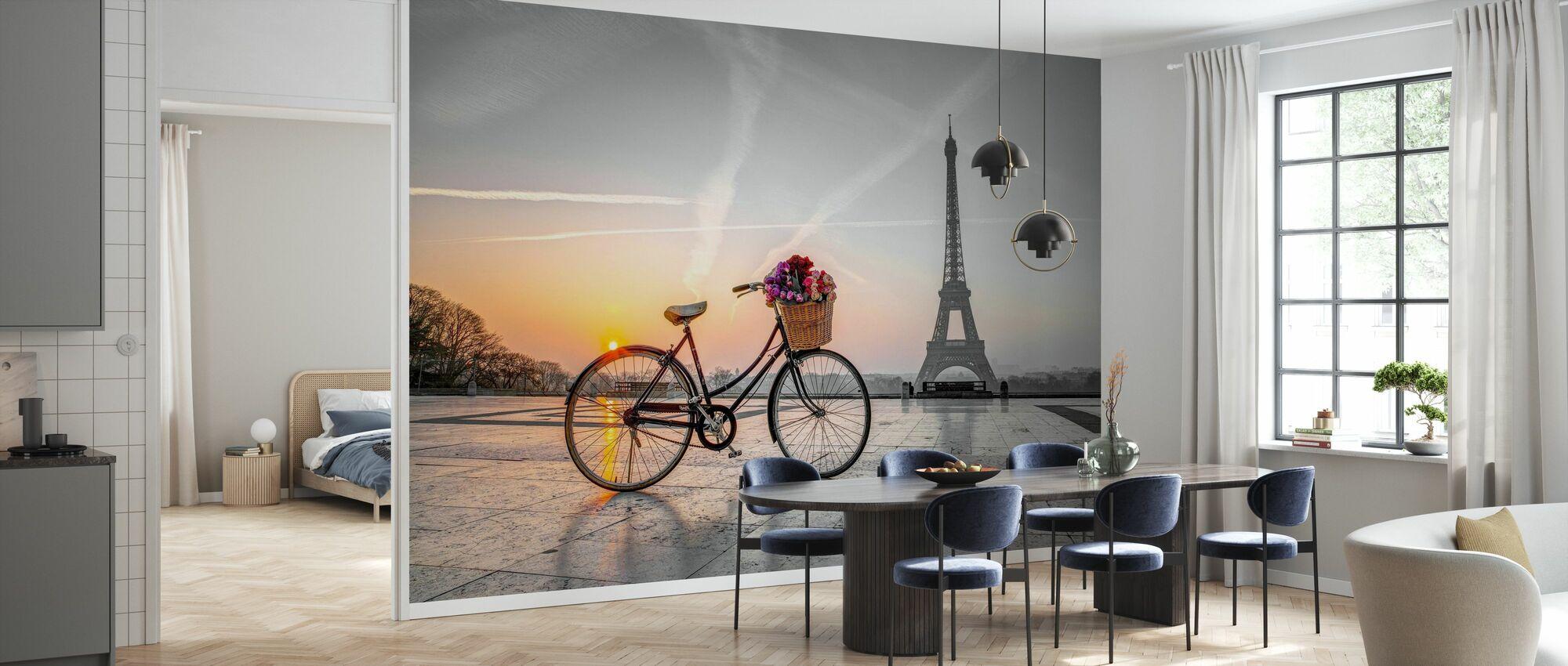 Bicycle Paris - Wallpaper - Kitchen