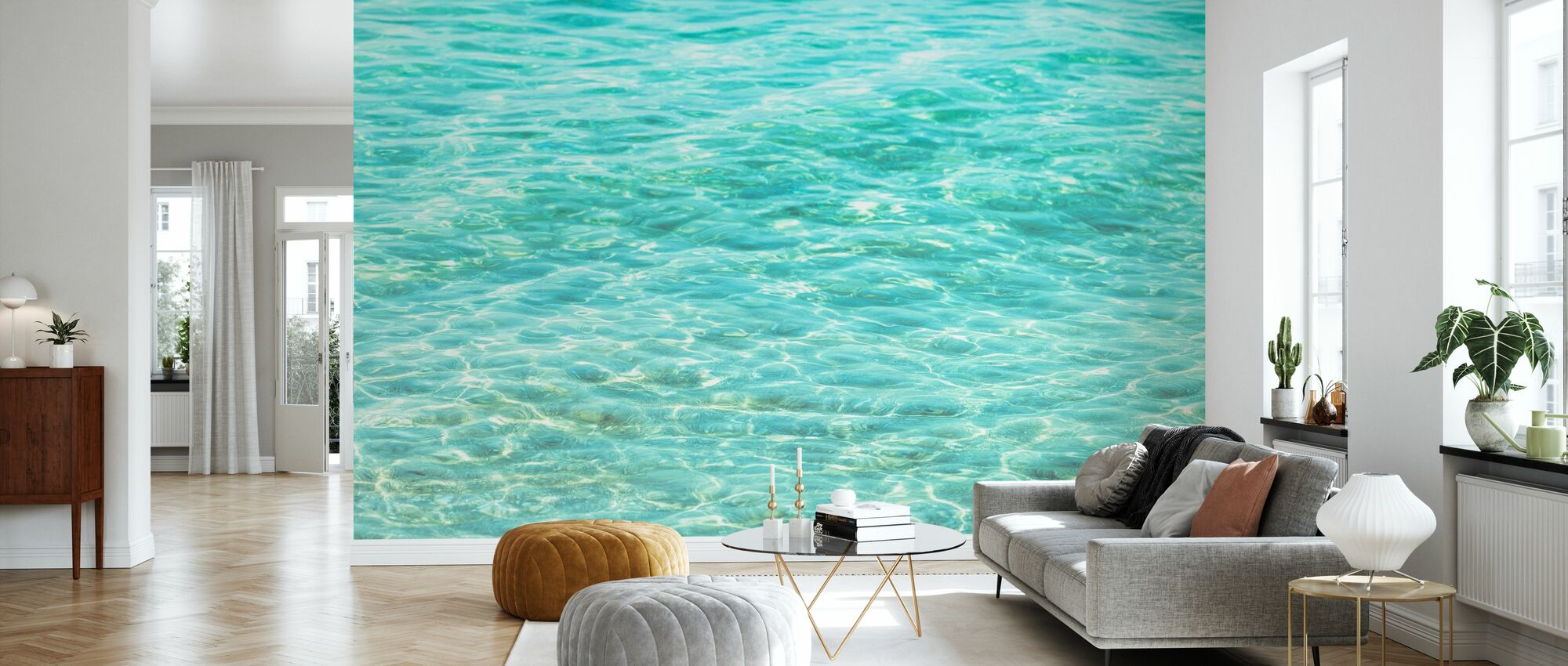 Inviting Sea - Wallpaper - Living Room