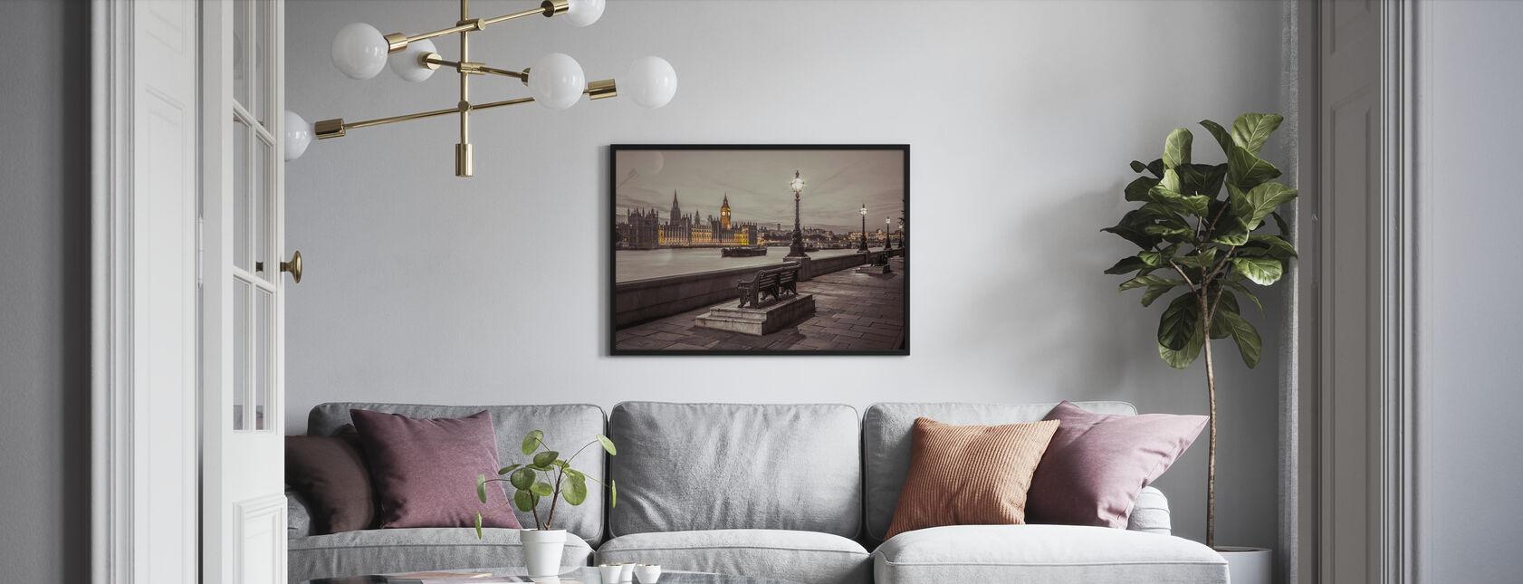 London by Night - Framed print - Living Room