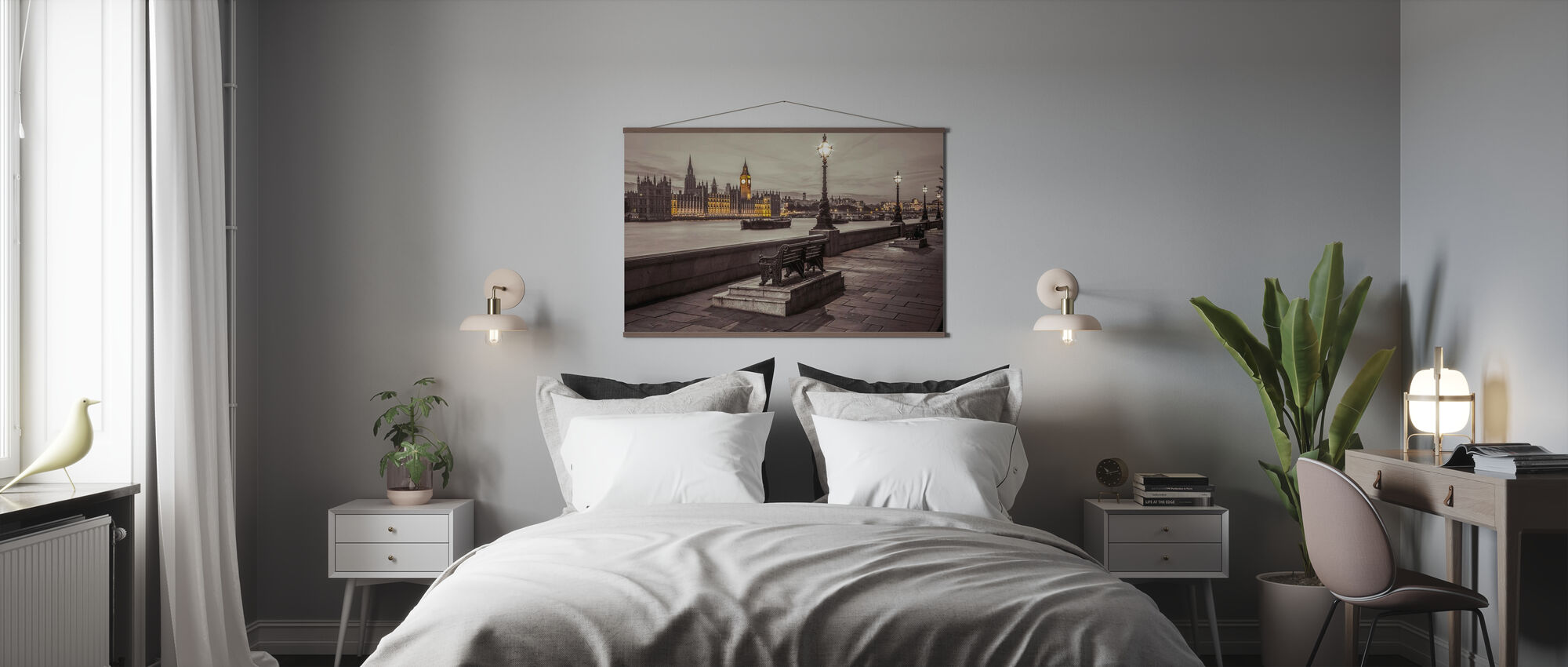 London by Night - Poster - Bedroom