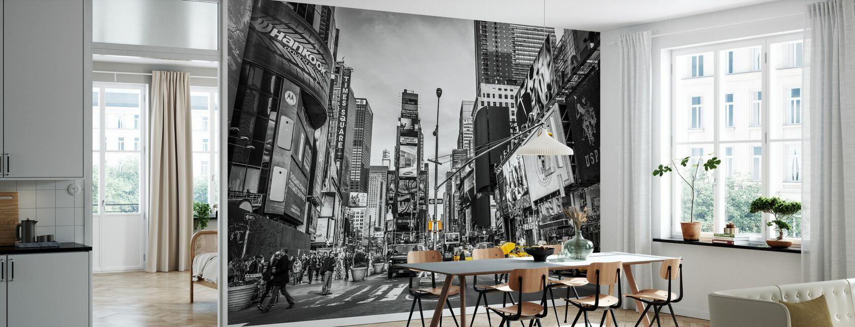 New York City Cabs - Carta da parati - Cucina