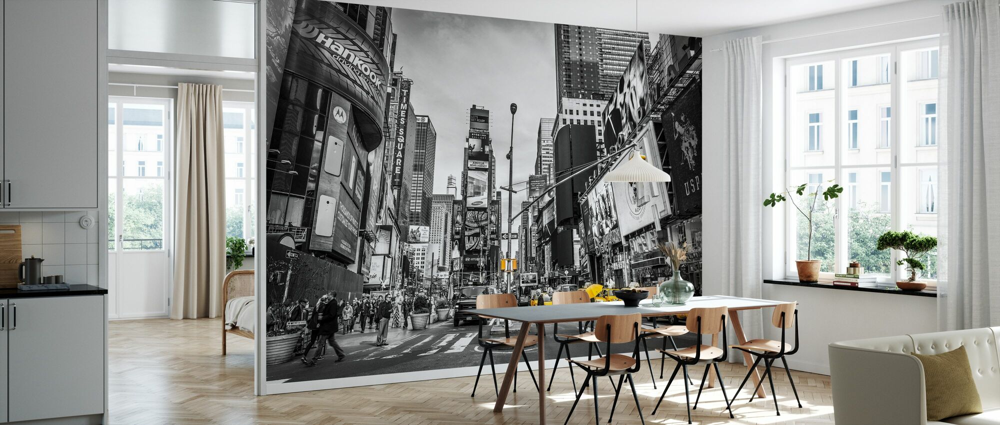 New York City Cabs - Wallpaper - Kitchen