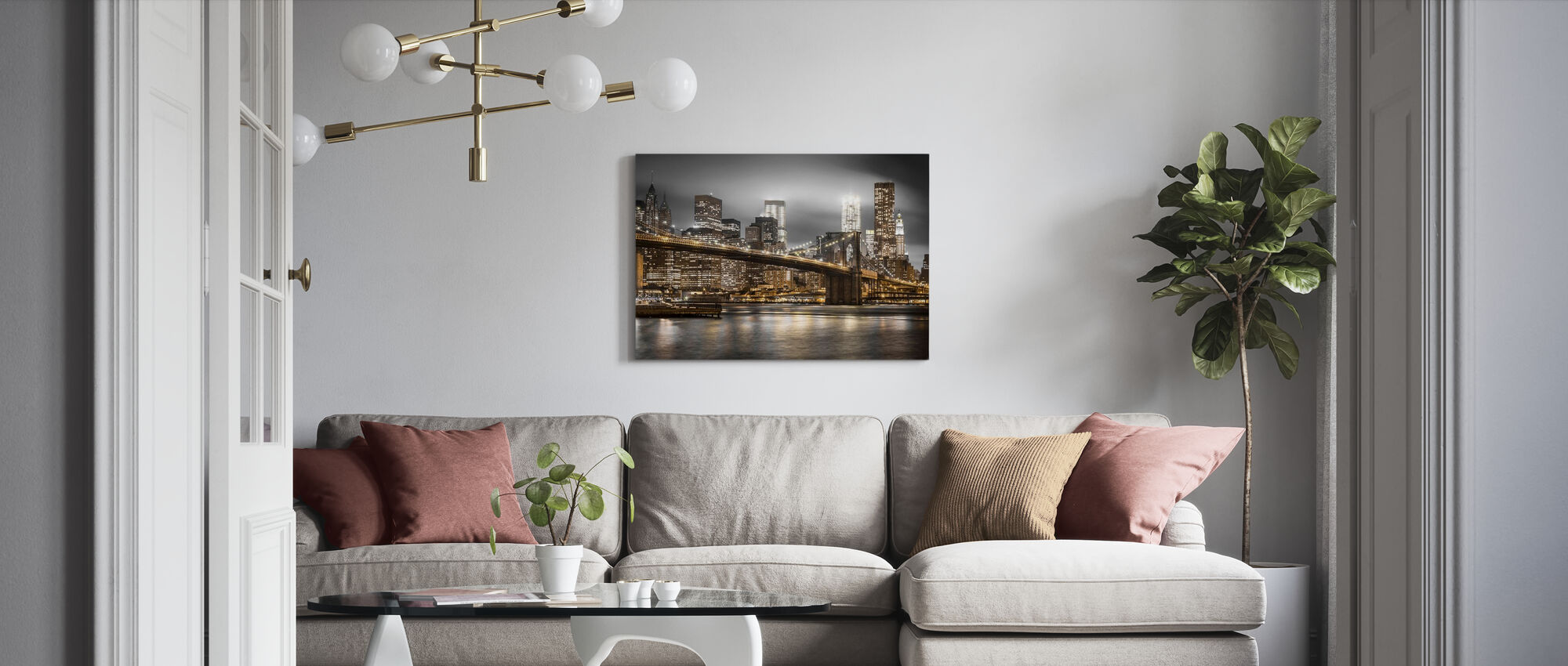 New York - Leinwandbild - Wohnzimmer