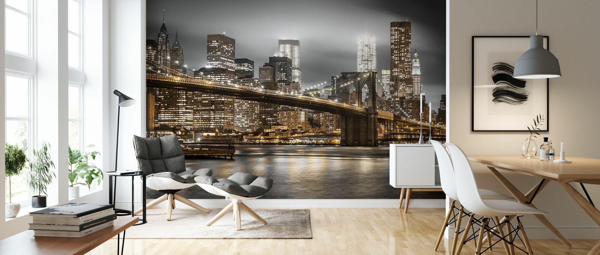 New York - Wallpaper - Living Room