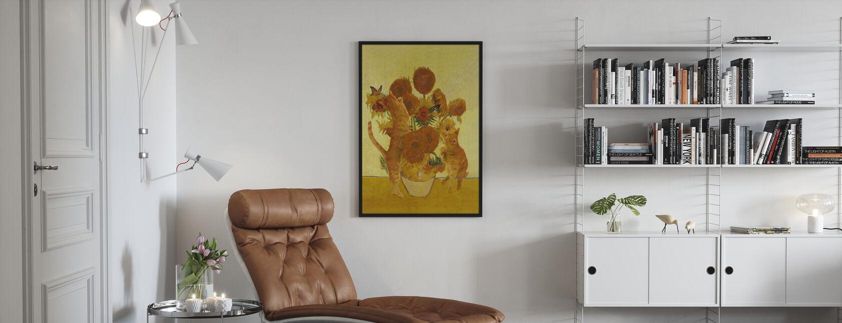Vangogh Katte - Plakat - Stue