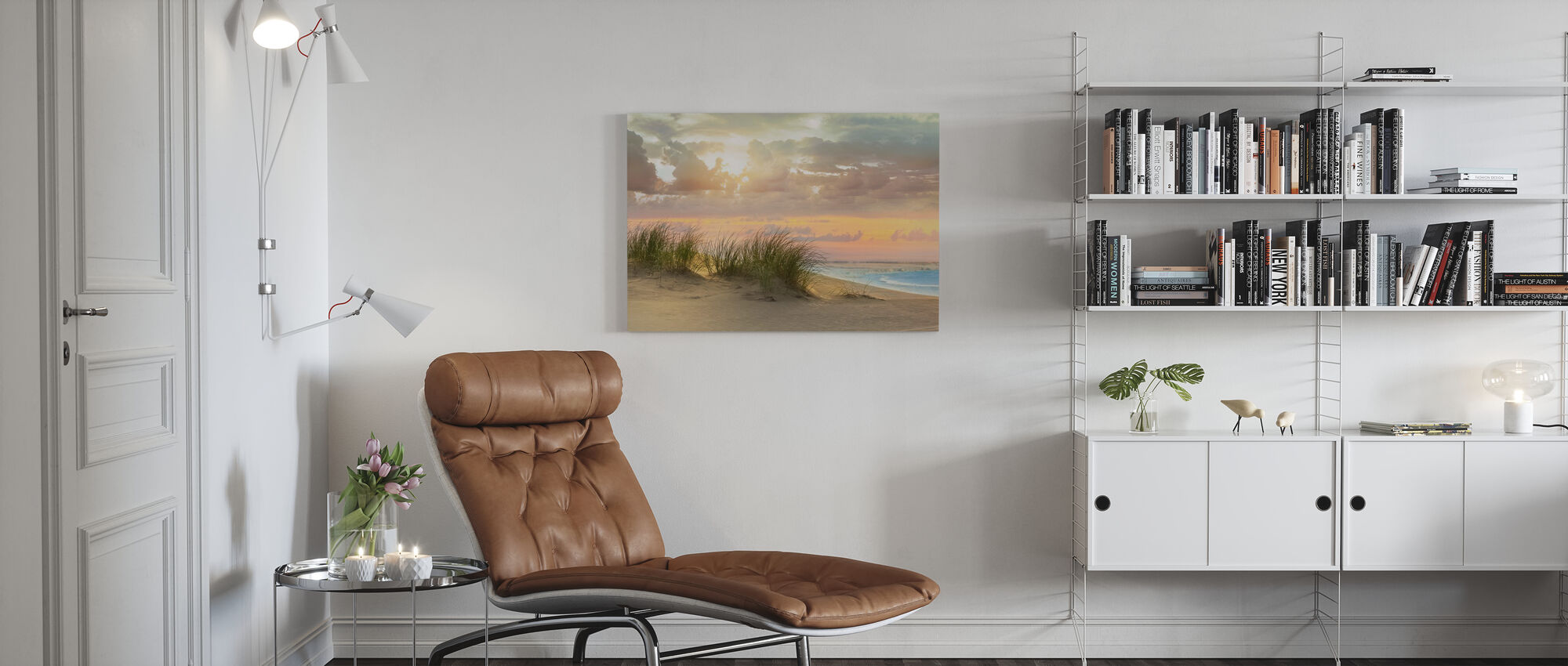 Lefthanded Grass - Canvas print - Living Room