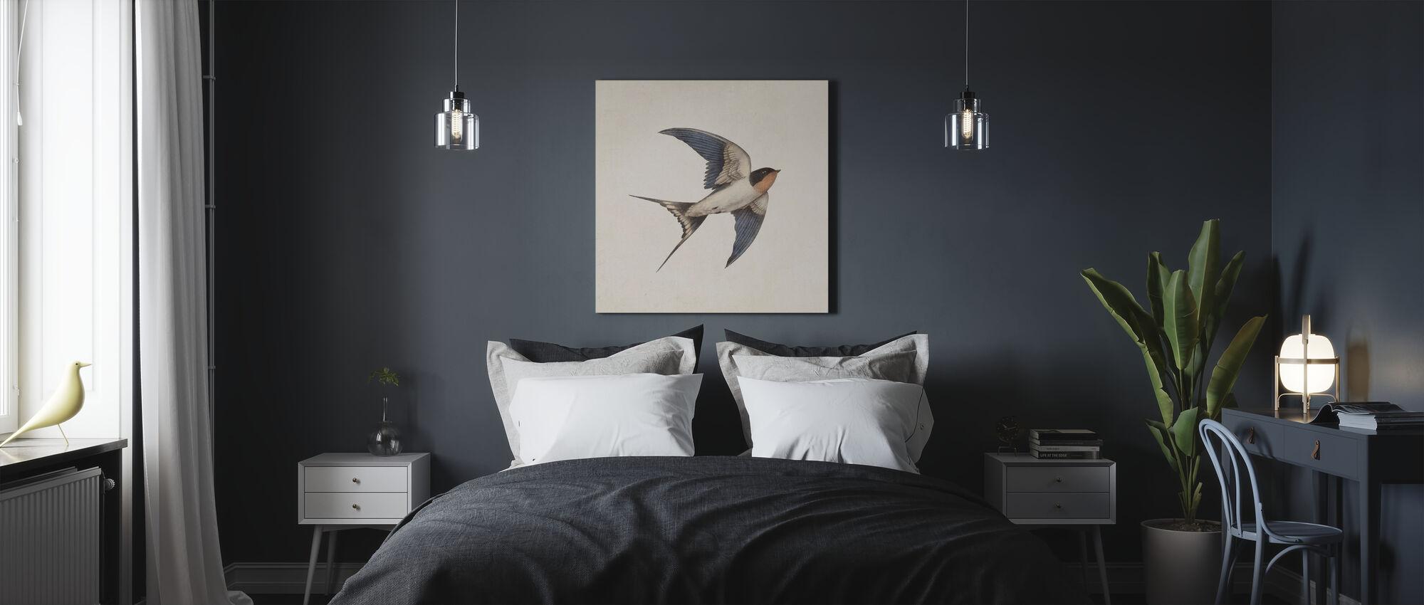 Barn Swallow - Canvas print - Bedroom