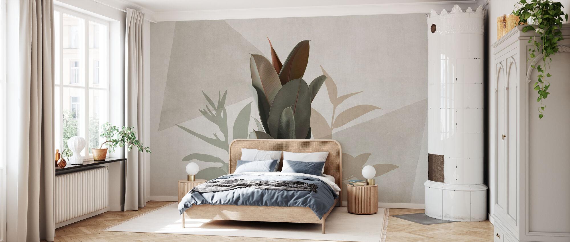 Ficus Elastic III. - Tapete - Schlafzimmer