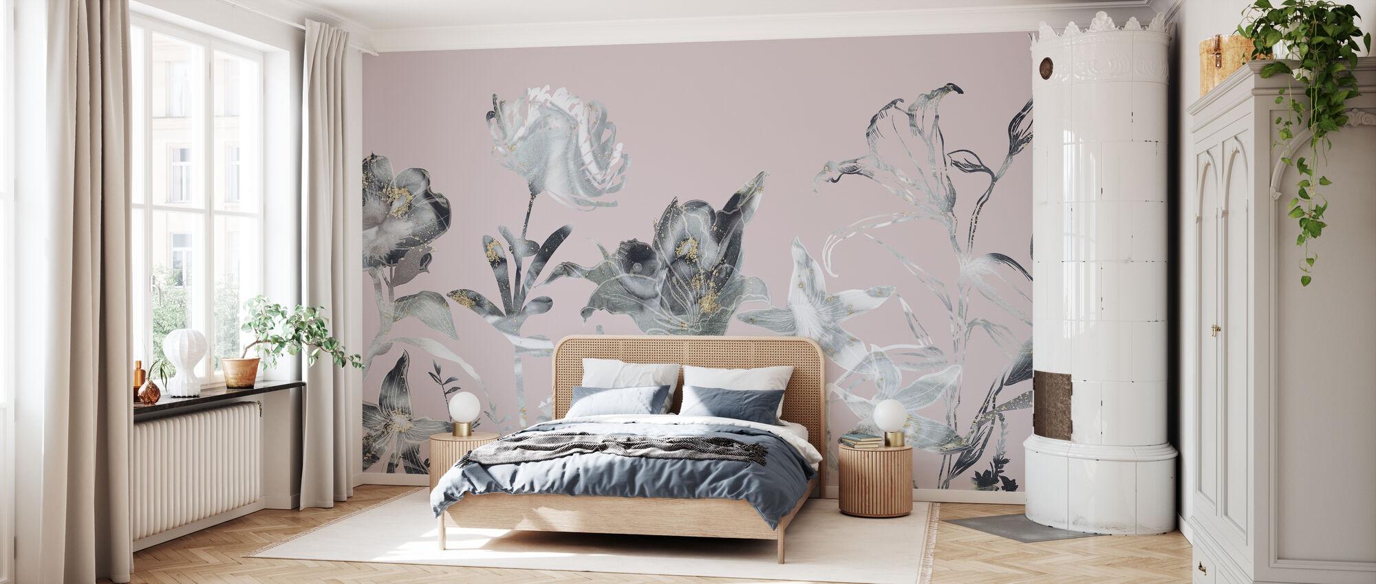 Floral Sway - Blush - Wallpaper - Bedroom