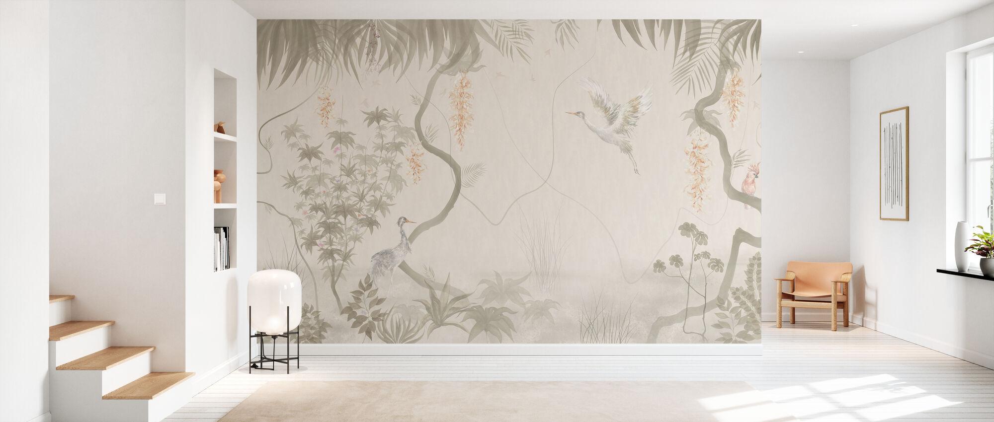 Tranquil Scenery - Beige - Wallpaper - Hallway